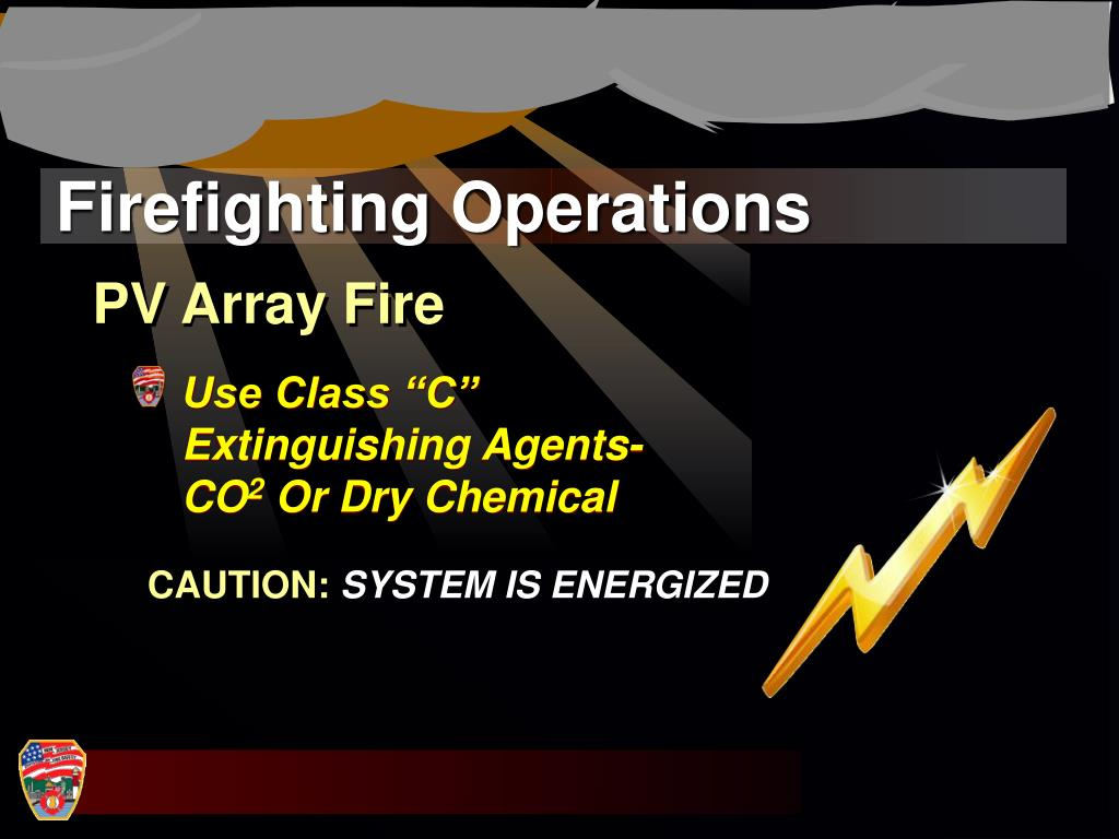 Firefighting Operations