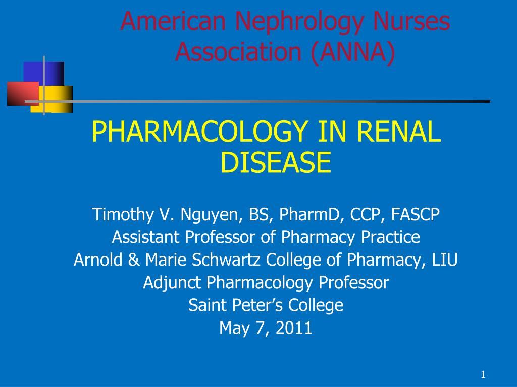 American Nephrology Nurses Association (ANNA)