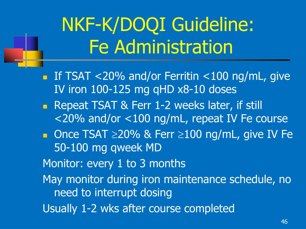 NKF-K/DOQI Guideline: