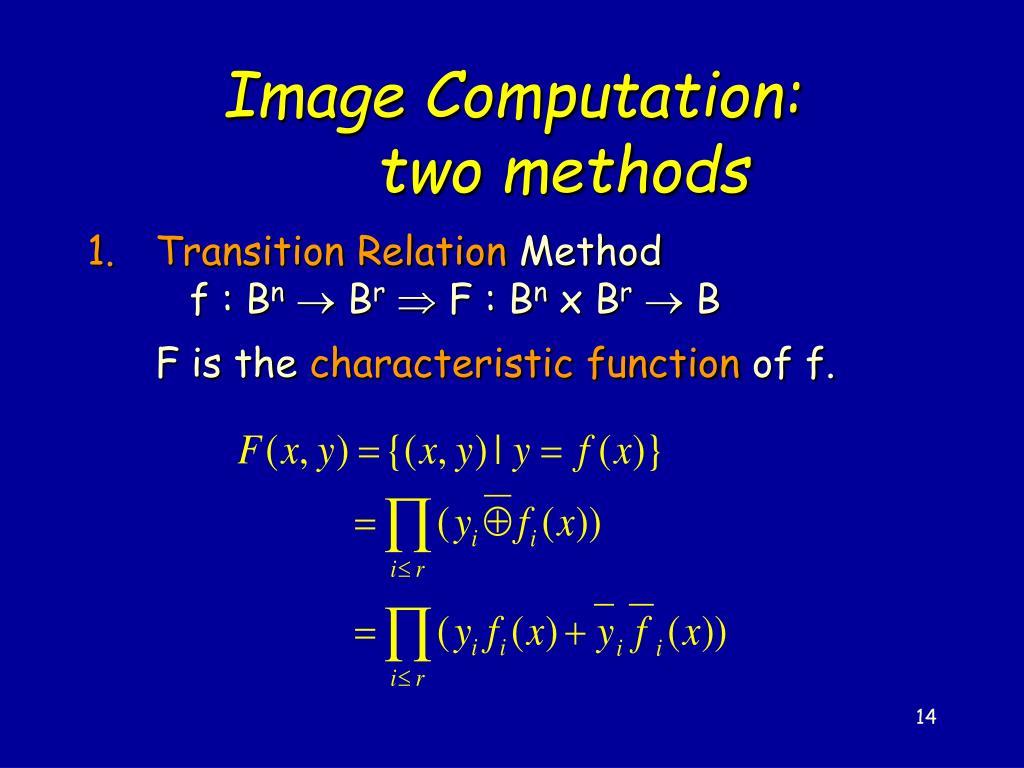 Image Computation: