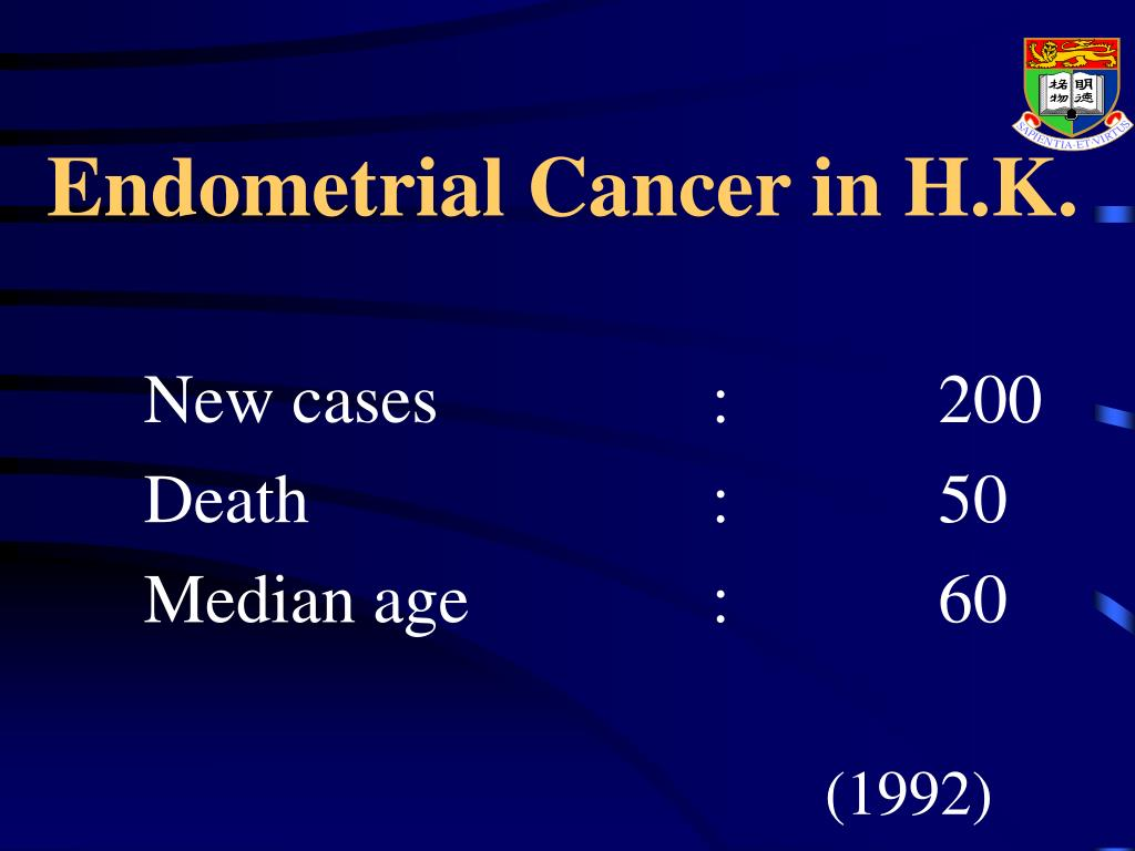 Endometrial Cancer in H.K.