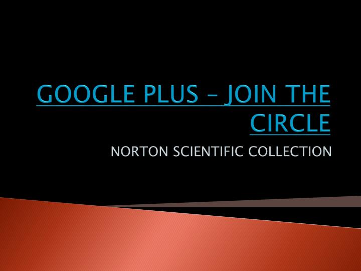 google plus join the circle n.