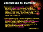 background to guernica
