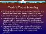 cervical cancer screening6