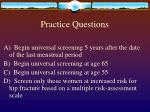 practice questions41