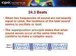 24 3 beats