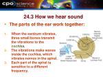24 3 how we hear sound