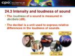 24 3 intensity and loudness of sound