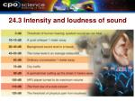 24 3 intensity and loudness of sound12