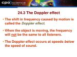 24 3 the doppler effect