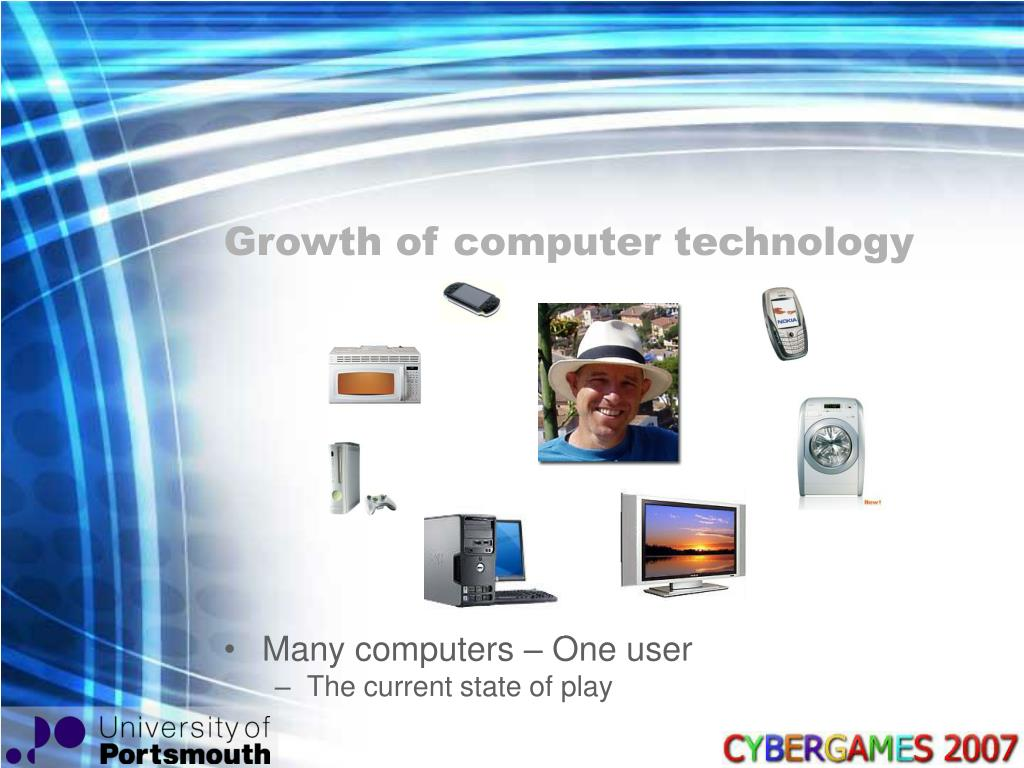 Growth of computer technology