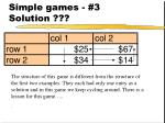 simple games 3 solution30
