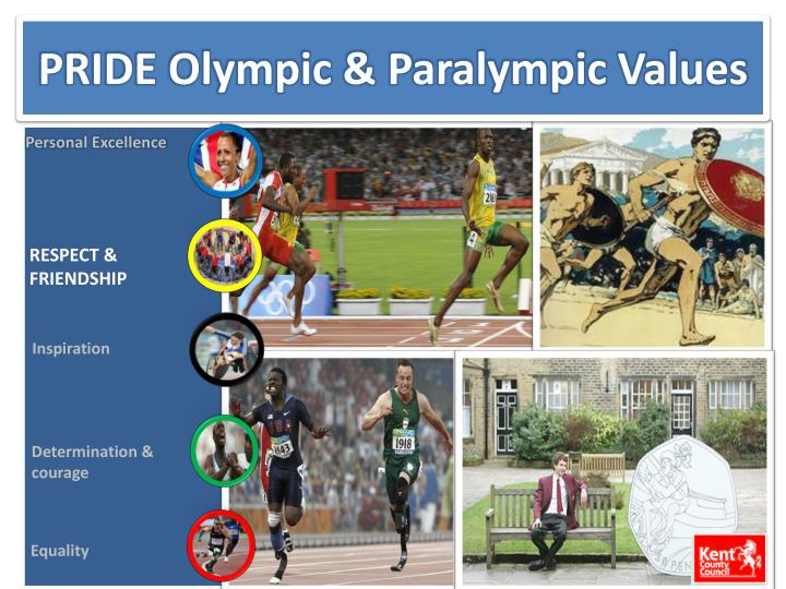 pride olympic paralympic values n.