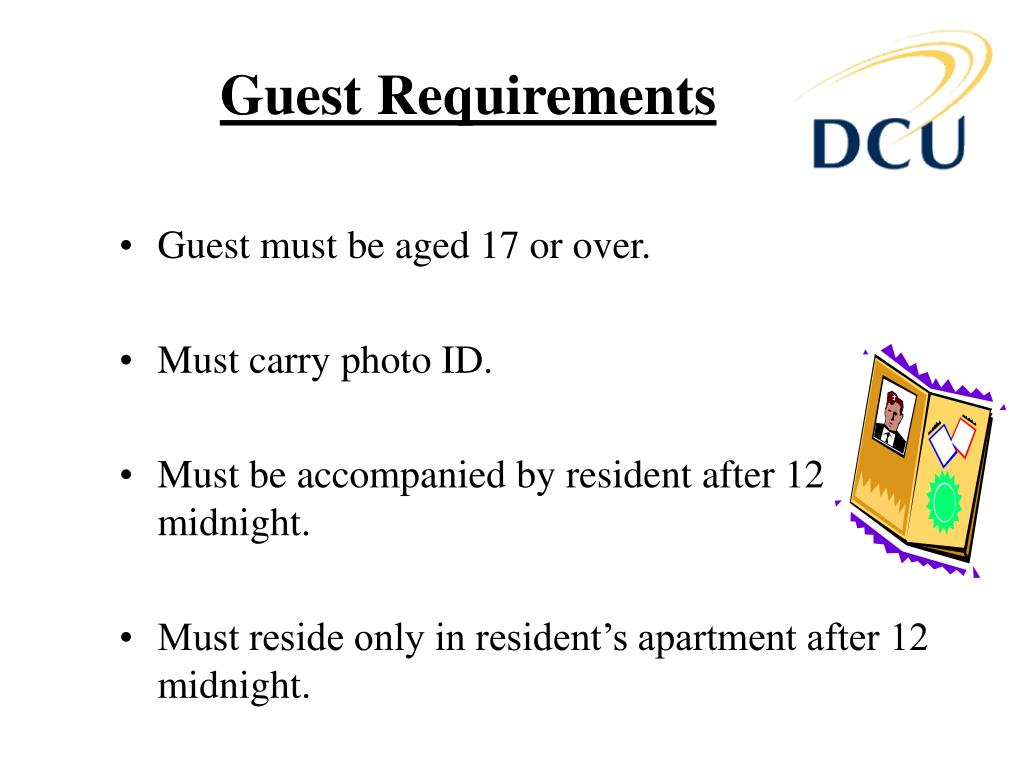 Guest Requirements