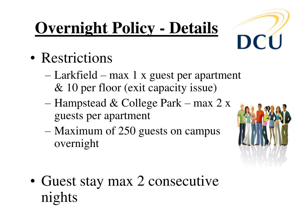 Overnight Policy - Details