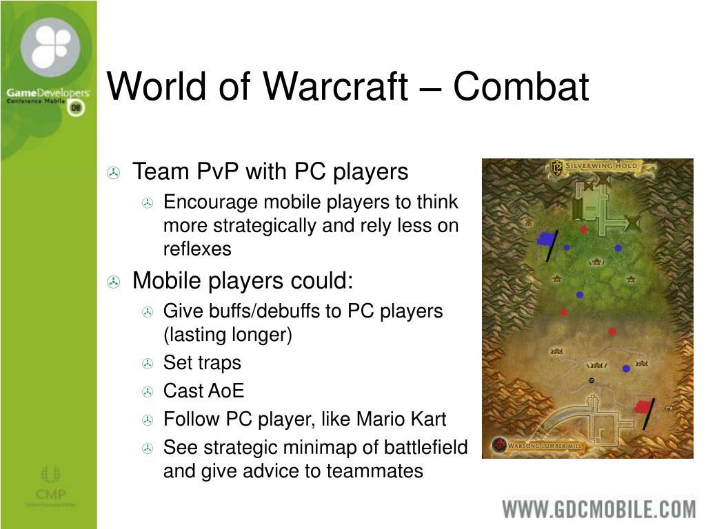 World of Warcraft – Combat