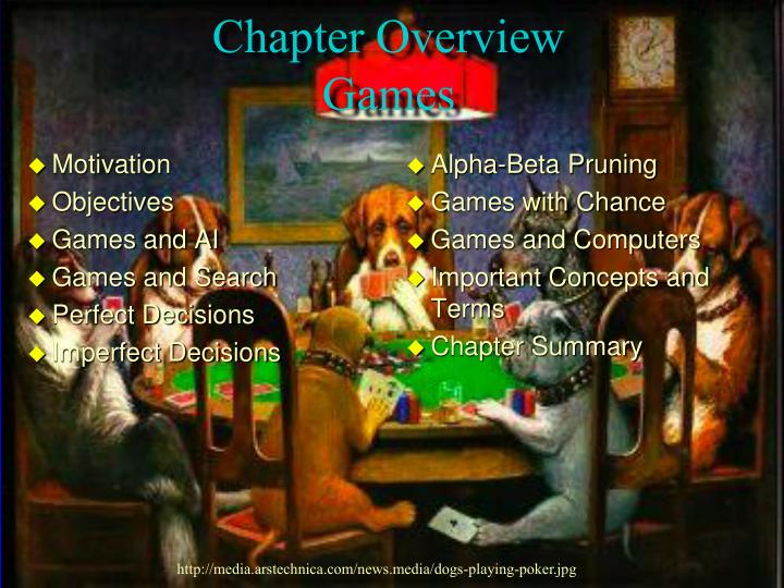Chapter overview games