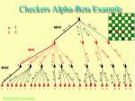 checkers alpha beta example