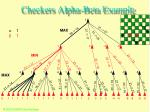 checkers alpha beta example47