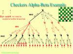 checkers alpha beta example48