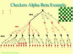 checkers alpha beta example49