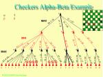 checkers alpha beta example52