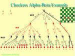 checkers alpha beta example54