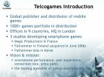telcogames introduction