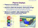 plasma displays