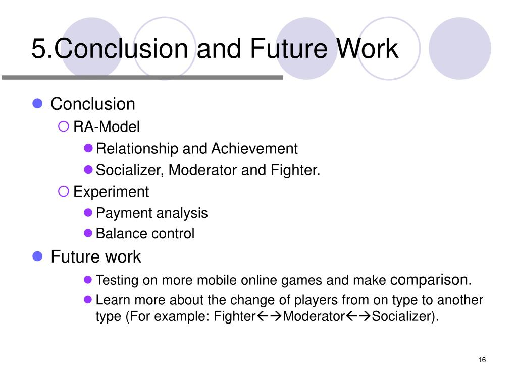 5.Conclusion and Future Work