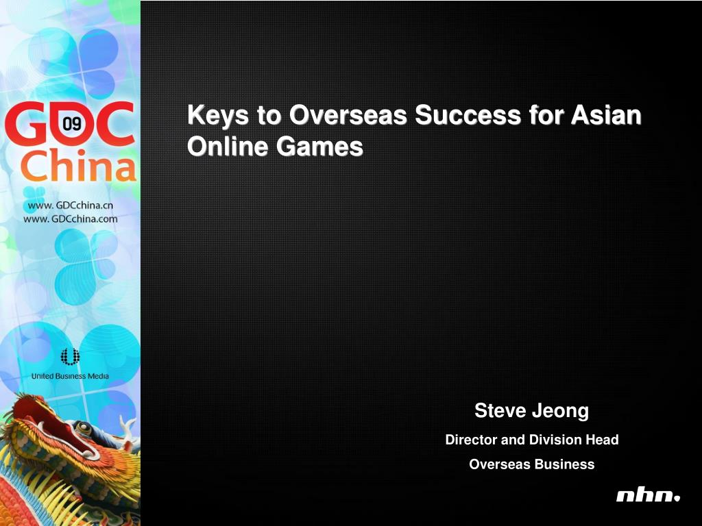 Keys to Overseas Success for Asian Online Games