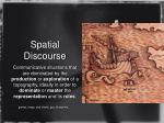 spatial discourse