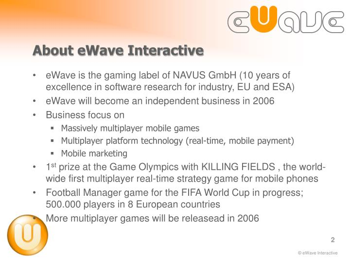 About ewave interactive