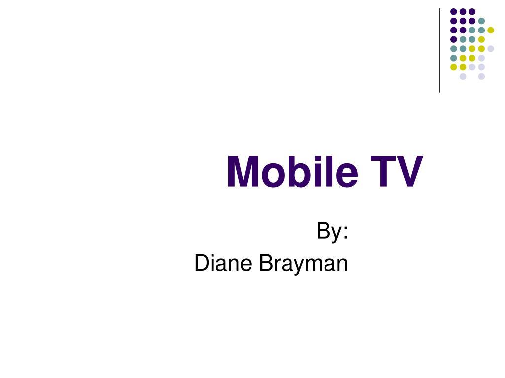 mobile tv l.