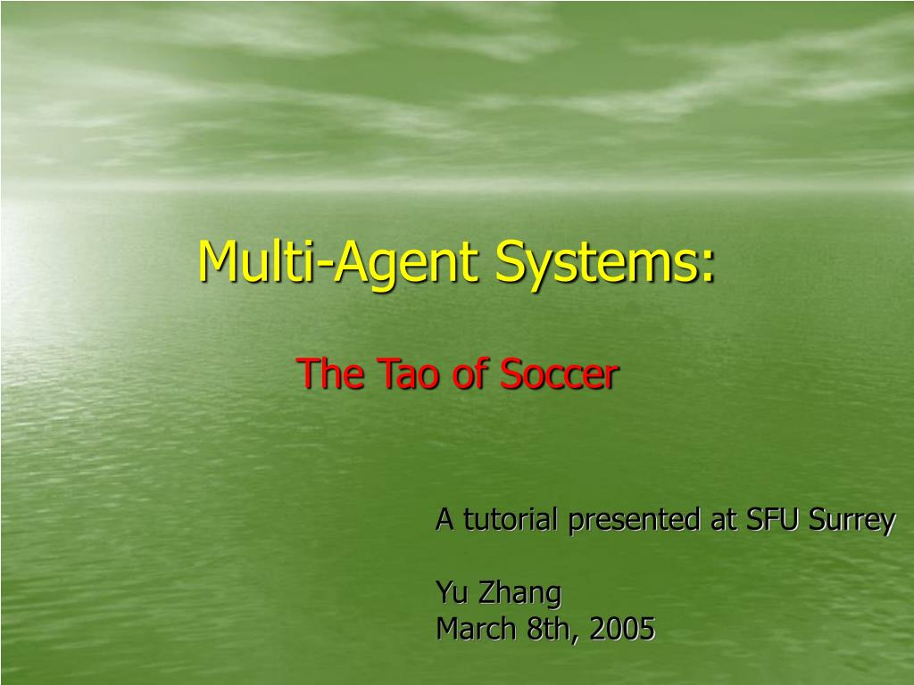 Multi-Agent Systems: