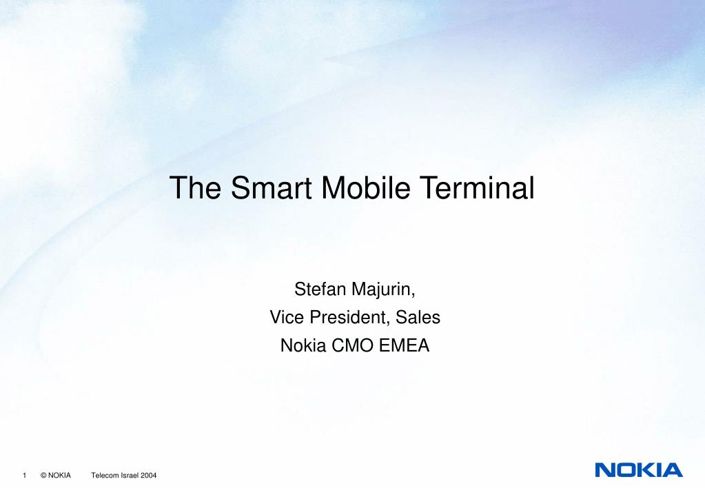 The Smart Mobile Terminal