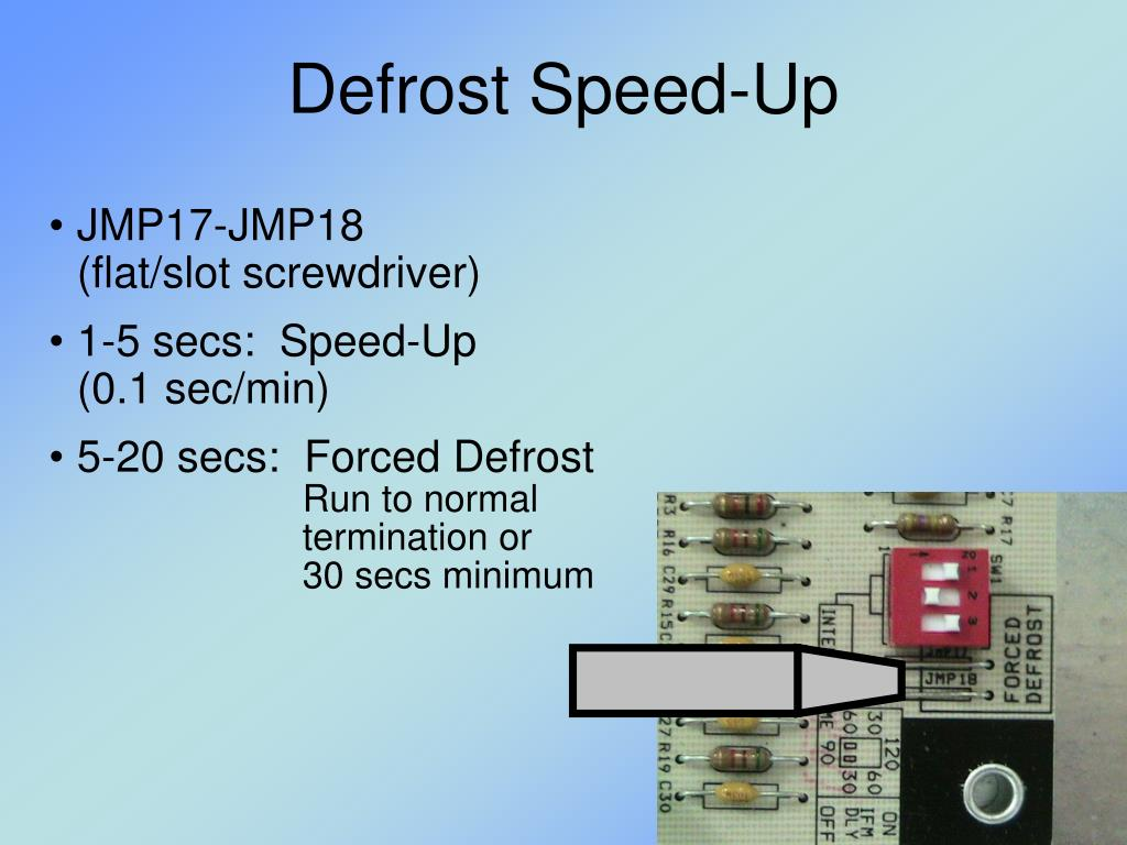 Defrost Speed-Up