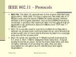 ieee 802 11 protocols14