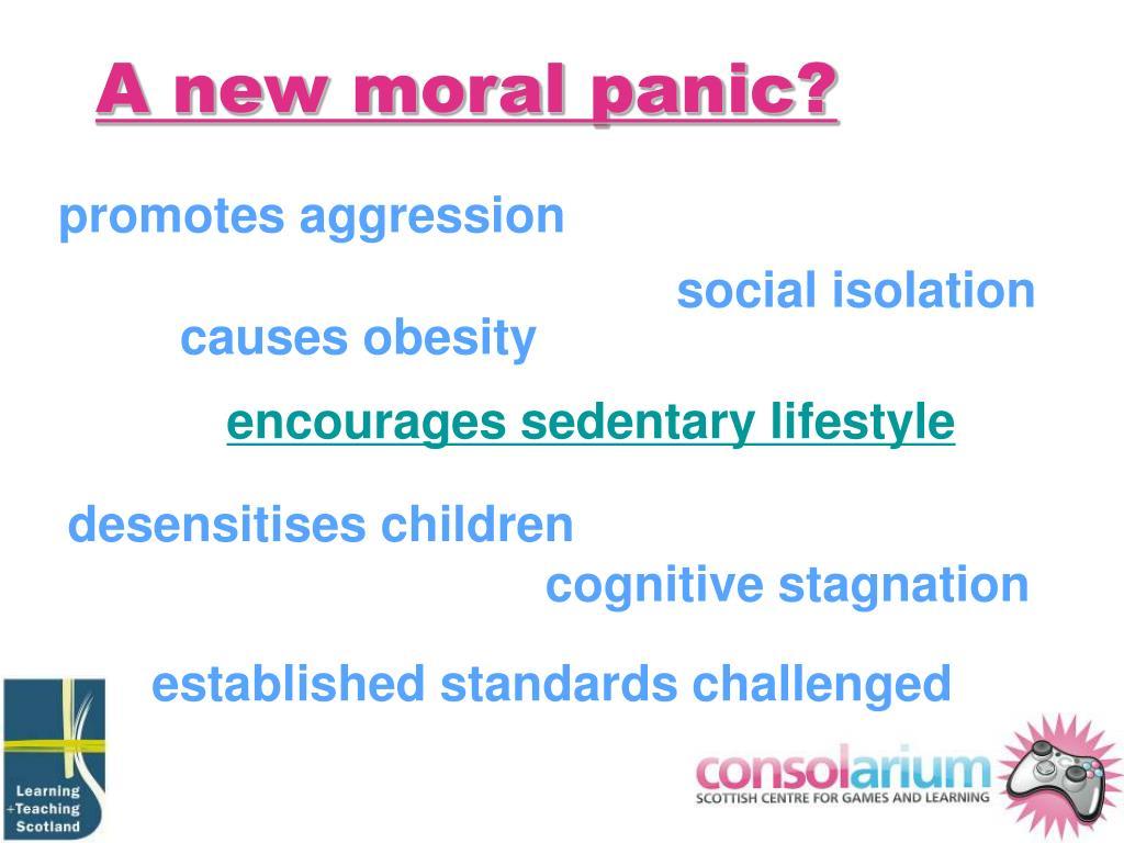 A new moral panic?