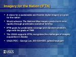 imagery for the nation iftn