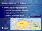 moving forward for alaska