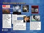 seeking synergy in science