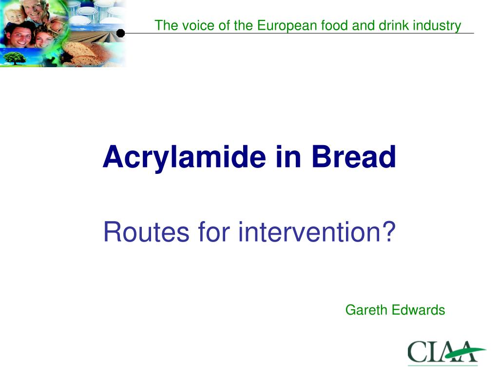 acrylamide in bread l.