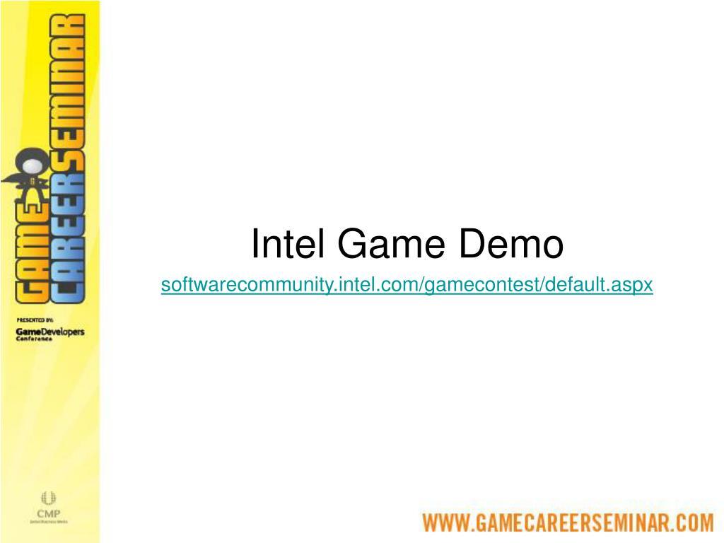 Intel Game Demo