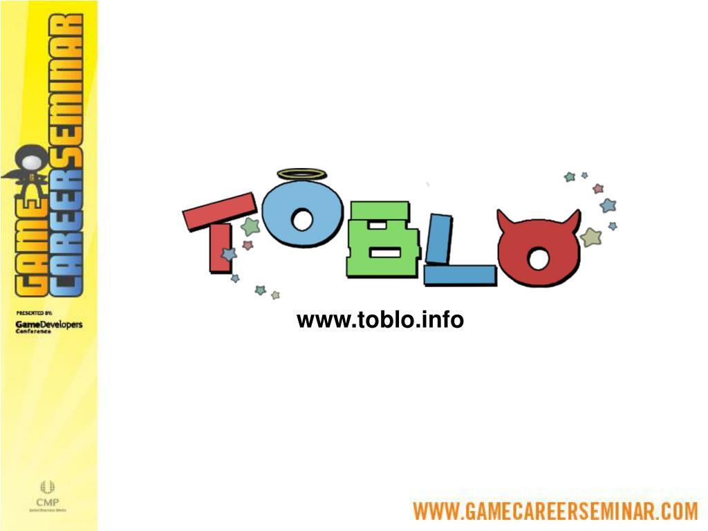 www.toblo.info