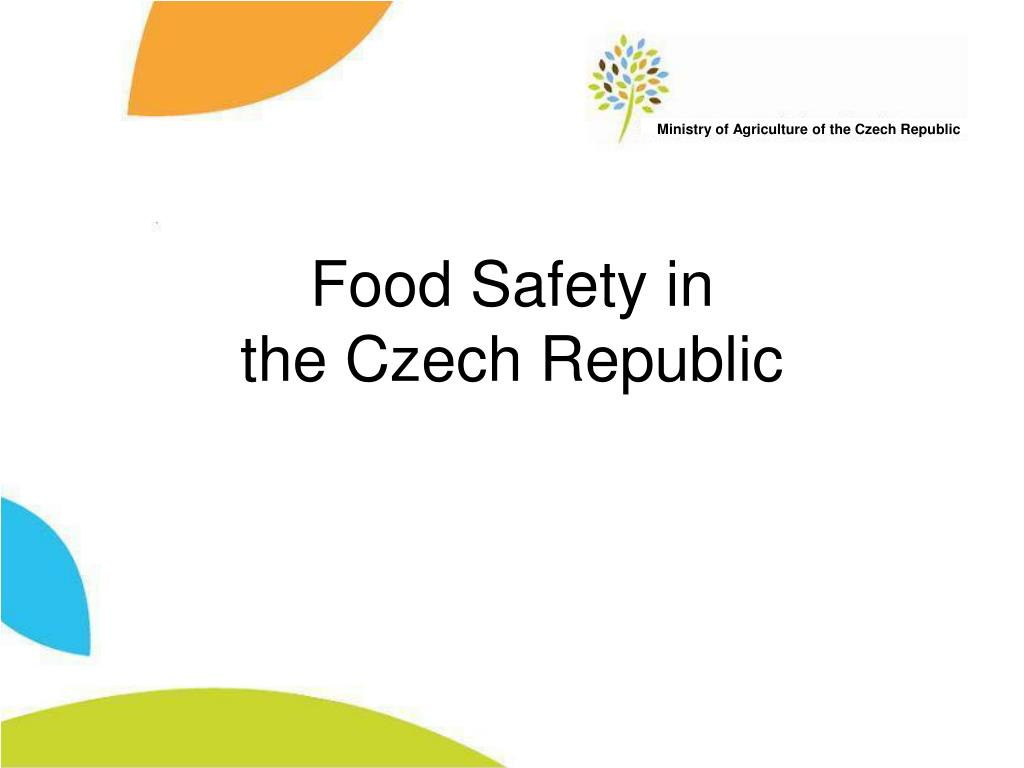 food safety in the czech republic l.