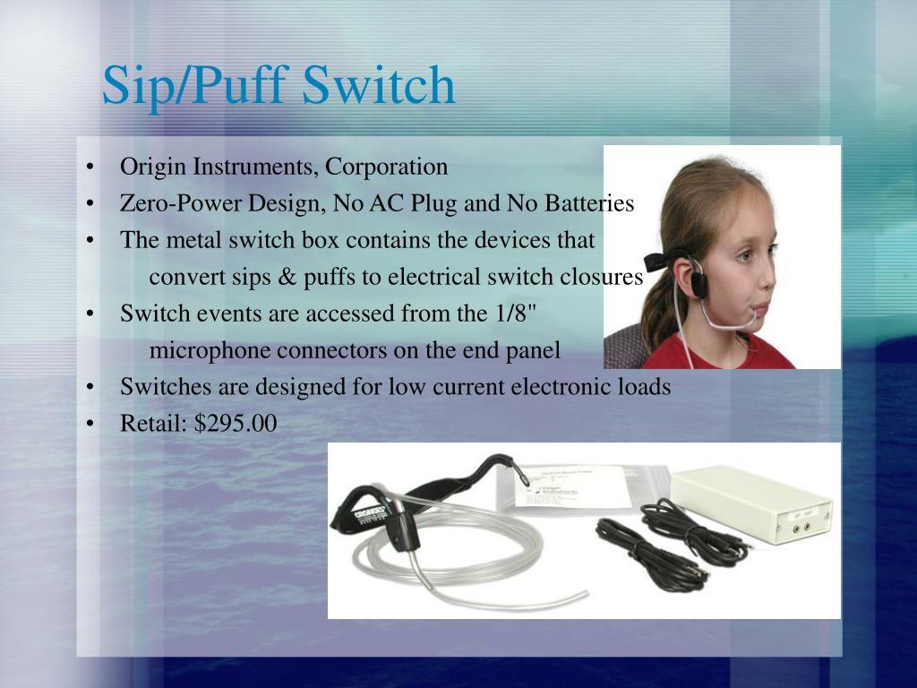 Sip/Puff Switch