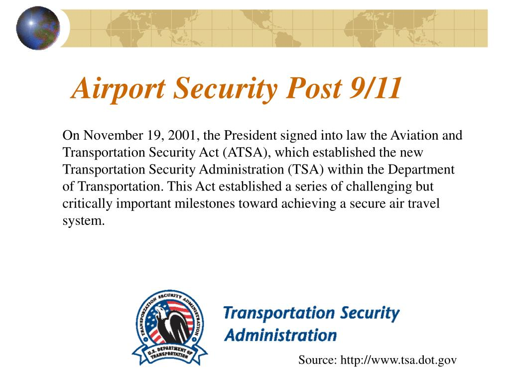 Airport Security Post 9/11