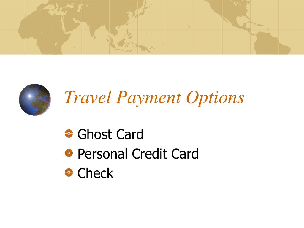 Travel Payment Options