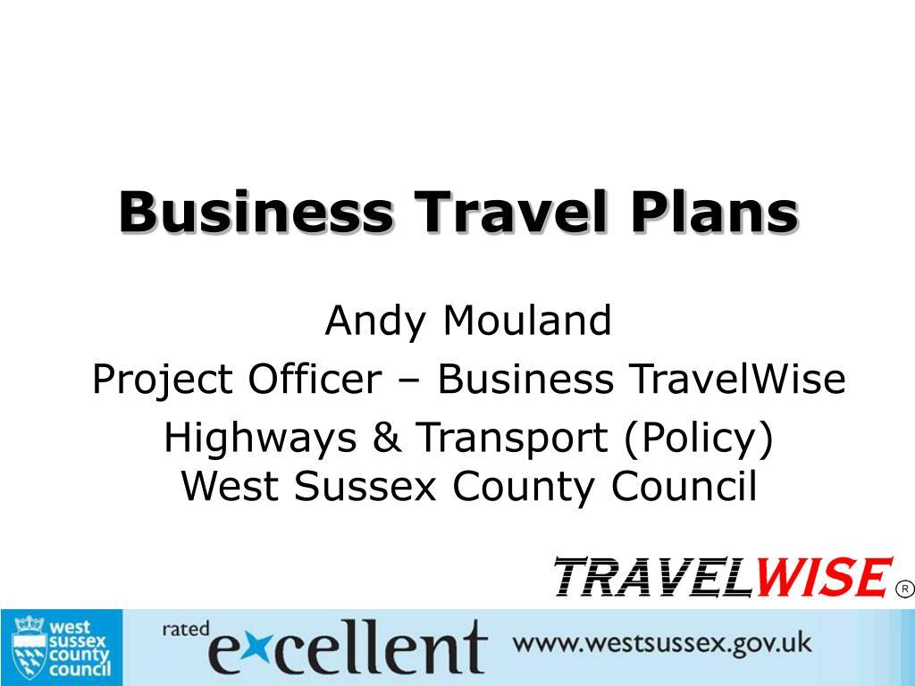business travel plans l.